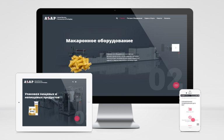 Создание веб сайта asap-fe.com